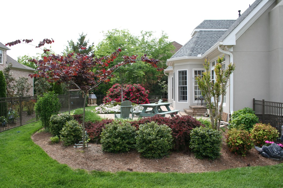 Advanced Lawn groomed landscape bushes