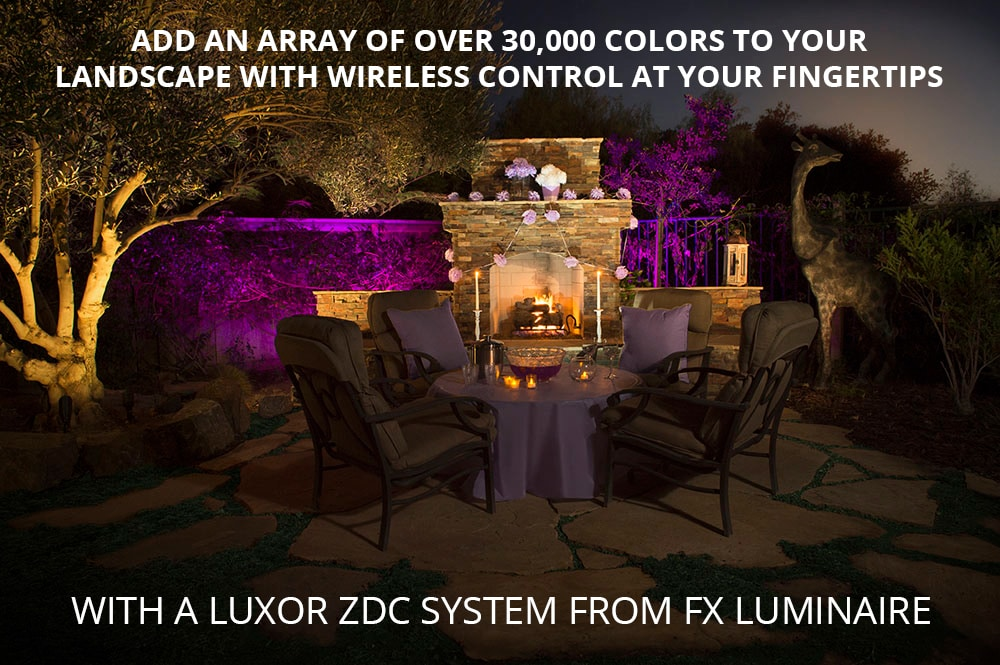 The Luxor ZDC System from FX Luminaire - Outdoor Lighting
