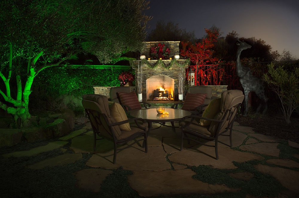 Make your Neighbors Envious this Season—Outdoor Lighting in Color